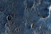Candidate Recent Impact Site on Floor of Sharonov Crater