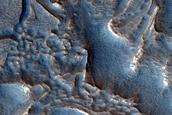 Ribbed Terrain in Deuteronilus Mensae