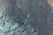 Alluvial Fans in Roddy Crater