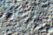 Large Channel East of Majuro Crater