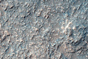 Possible Clay Minerals in Noachis Terra