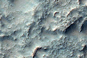 Olivine-Rich Channel and Plains in Terra Sirenum