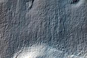Crater with Misshapen Rim