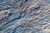 Crater Wall in Hellas Planitia