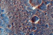 Layer Exposures around Mawrth Vallis