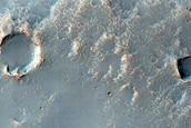 Channels Near Wislicenus Crater