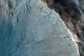 1.5 Km Fresh Crater on Northern Plains