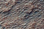 East Melas Chasm Floor Deposits