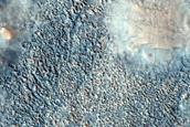 Pitted Cones on Ridge in Acidalia Planitia