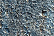 Chryse Planitia Terrain Sample