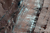 Monitoring of Steep Scarp in North Polar Layered Deposit Interior