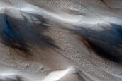 Hellas Region Sand Dune Changes