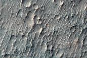 Landforms South of Sirenum Tholus