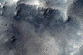 Well-Preserved 4-Kilometer Crater in Schiaparelli Crater
