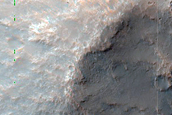 Impact Crater with Central Peak