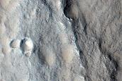 Mesa in Utopia Planitia