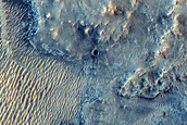 Candidate Landing Site for 2020 Mission Near Jezero Crater