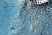 Fresh Impact Near Airy Crater