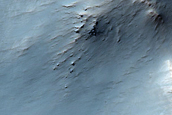 Outer-Rim Terrace at Bakhuysen Crater