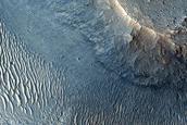 Chaotic Terrain Near Ravi Vallis
