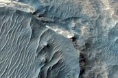 Floor of Melas Chasma