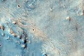 Olivine Signature on Crater Floor Deposit