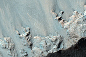 Rock of Lower West Candor Chasma Wall