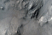 Monitor Steep Crater Slopes Near InSight Lander