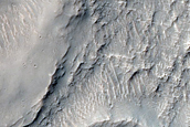 Knobby Unit in Intercrater Plain