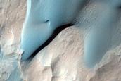 Dune Field in Holden Crater