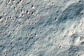 Southern Ejecta of Resen Crater