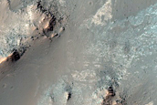 Light-Toned Deposit in Ius Chasma