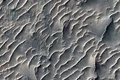 East Melas Chasma Floor Deposits