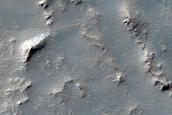 Lava Flows West of Claritas Fossae