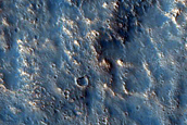 South Rim of Well-Preserved 25-Km Crater in Acidalia Planitia