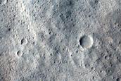 Melt Pools Around Yelwa Crater