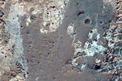 Possible Caldera Depression Near Oxia Planum