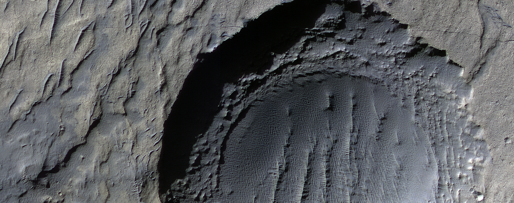 Degradation of Craters in Noachis Terra