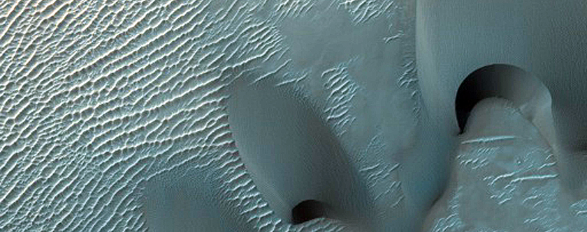 South Xainza Crater Dune and Slope Monitoring
