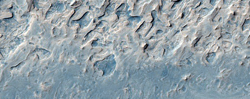 Layered Strata in Arabia Terra