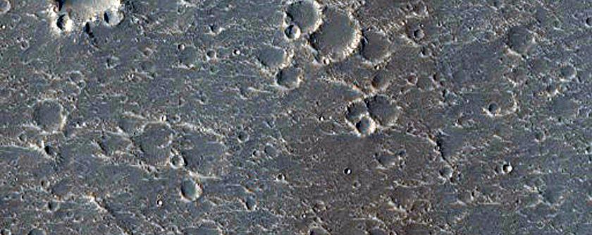Pit in Hephaestus Fossae