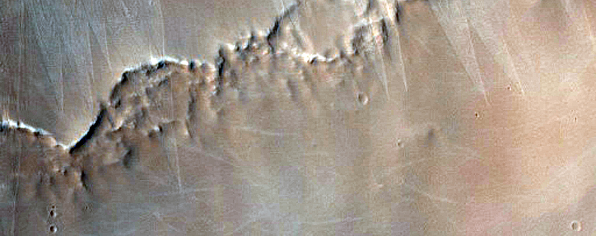 Slope Streaks in Arabia Terra