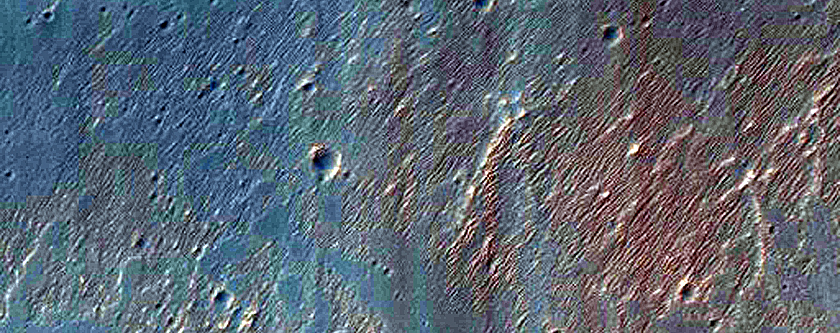 Terraced Fan in East Candor Chasma