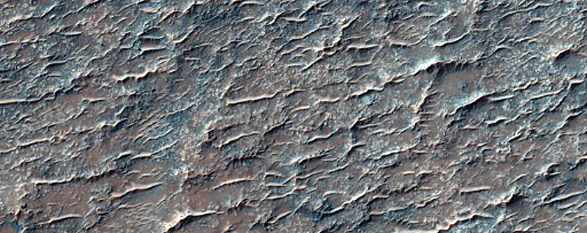 Intercrater Plains North of Huygens Crater