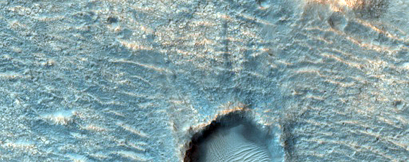 Candidate ExoMars Landing Site in Oxia Planum