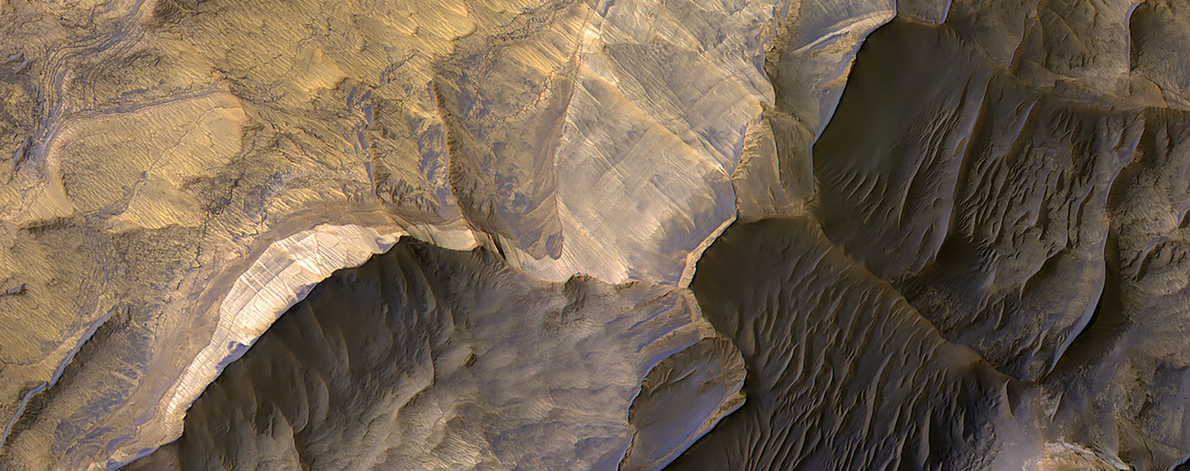 Sandstone in West Candor Chasma