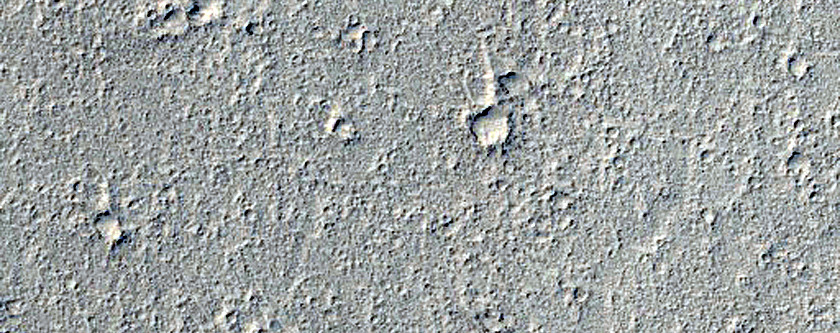 Channel in Elysium Planitia