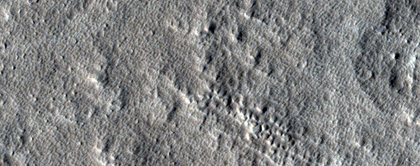Search for Expanded Craters