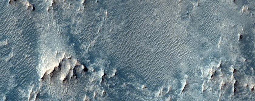 Crater Floor Southwest of Schroeter Crater