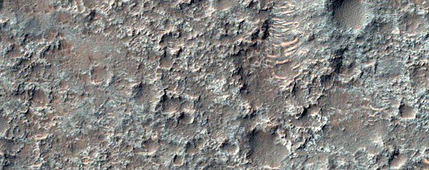 Tyrrhena Terra Plains